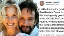 Nick Cordero's widow, Amanda Kloots, slams Trump's COVID tweet