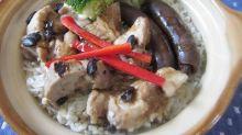【食譜】鵝肝腸排骨煲仔飯