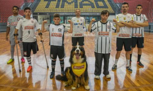 Corinthians terá patrocínio em futsal, paradesportes e até para escolinhas