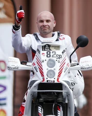 Muere un piloto polaco en el rally Dakar