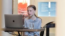 'Whether we like it or not': Thunberg urges fight on 'two crises at once'
