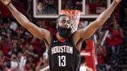 Wolves hardly a problem for Houston, Harden