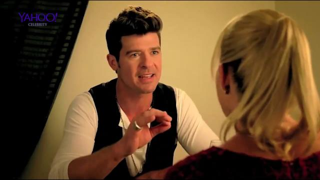 Robin Thicke's CRINGE acting