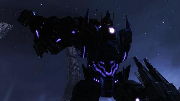 Transformers: Rise of the Dark Spark trailer thinks it's for a movie