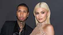 "Kylie Jenner Got a Teeny, Tiny ""T"" Tattoo for Tyga"