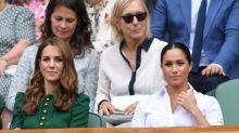 Kate Middleton y Meghan Markle se pelearon por unas medias