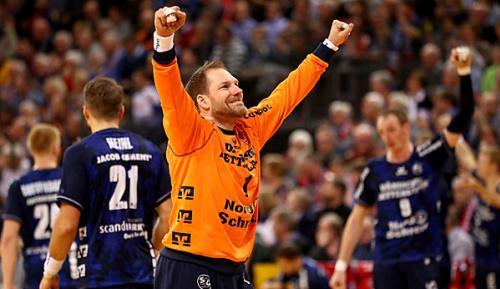 Handball: Flensburg gewinnt Hinspiel in Weißrussland knapp