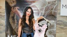 Megan Fox lanza nueva línea de lencería con este atrevido atuendo