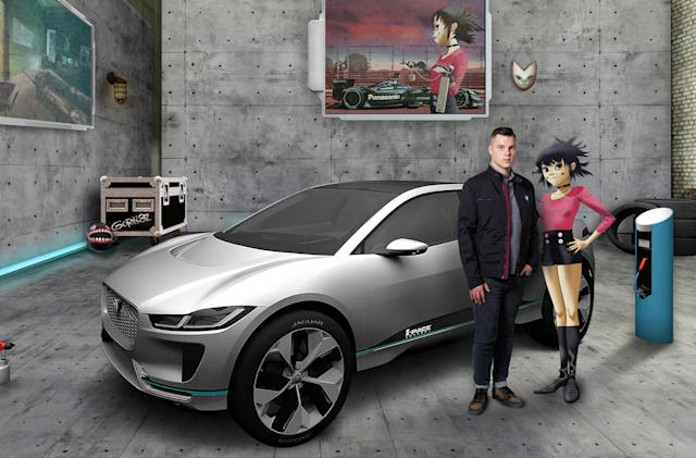 Jaguar makes first hire through Gorillaz mixed-reality app