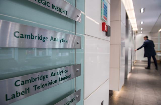 UK orders Cambridge Analytica to provide data on US voter