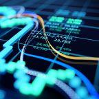 US STOCKS-Dow ends at record high, Nasdaq falls as tech slides