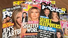 Fights over Post-it notes? 'Secret sleepovers' with Brad? Jennifer Aniston's separation leads to bonkers tabloid tales.