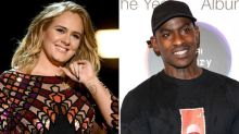 Adele and Skepta enjoy night out in East London bar