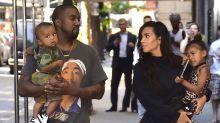 Kim Kardashian's Kids Interrupted Her Instagram