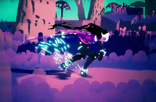 'Hyper Light Drifter' devs' next game goes rollerblading across clouds