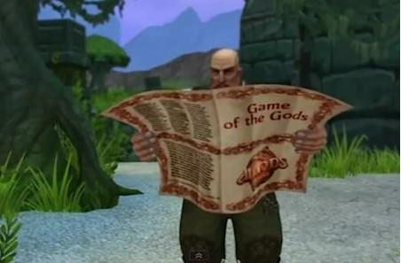 Allods Online cheekily promotes Game of Gods expansion