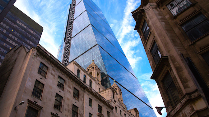 London's 'Cheesegrater' building is up for sale