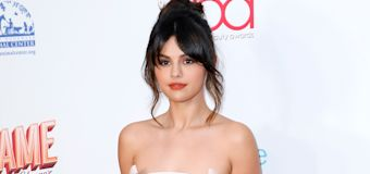 Shop Selena Gomez's affordable puff-sleeve top