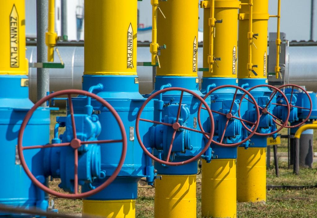 Demand for gas grew 4.6 percent -- the fastest rate since 2010 -- and gas accounded for nearly half of the total increase in worldwide energy consumption (AFP Photo/JOE KLAMAR)