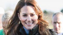 Herzogin Kate im lässigen Lockdown-Look in erstem Selfie-Video