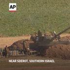 Israeli tanks fire on Gaza