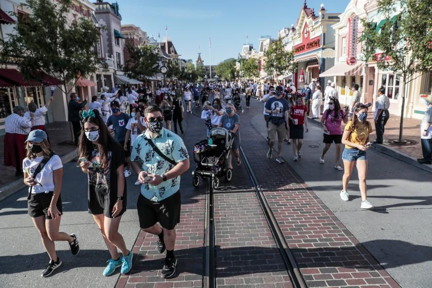 Wait times at Disneyland and Universal Studios are way down. Here's why