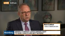 Anglo American Says Demand `Very Strong,' Dismisses Breakup Rumor