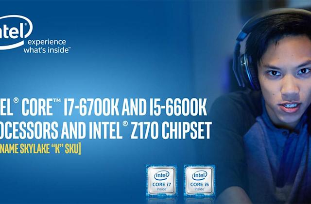 Intel targets gamers with sixth-gen 'Skylake' CPU launch