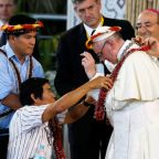 Protect the Amazon from big business and greed, Pope Francis urges