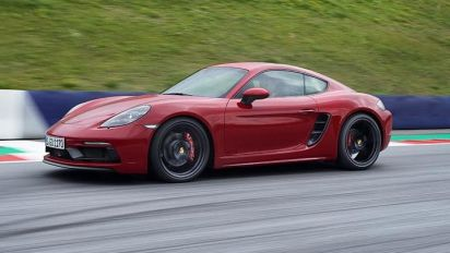 Porsche reveals 718 Cayman and Boxster GTS: more power - and a manual gearbox as standard