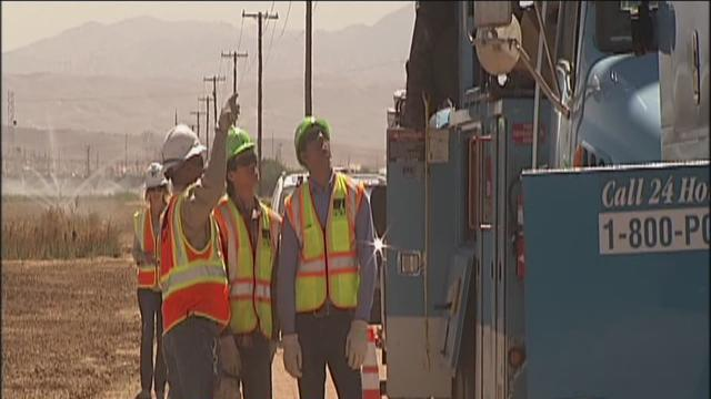 High school interns shadow PG&E crews in Bakersfield