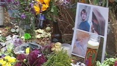 Memorial Held For Zachary Parke