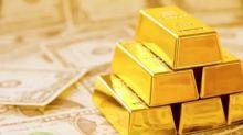 Oro a la Baja por Subida del Dólar Impulsada por Aversión al Riesgo
