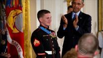 Marine awarded Medal of Honor after absorbing grenade blast