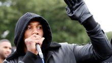 Anthony Joshua delivers powerful speech at Black Lives Matter demonstration in Watford