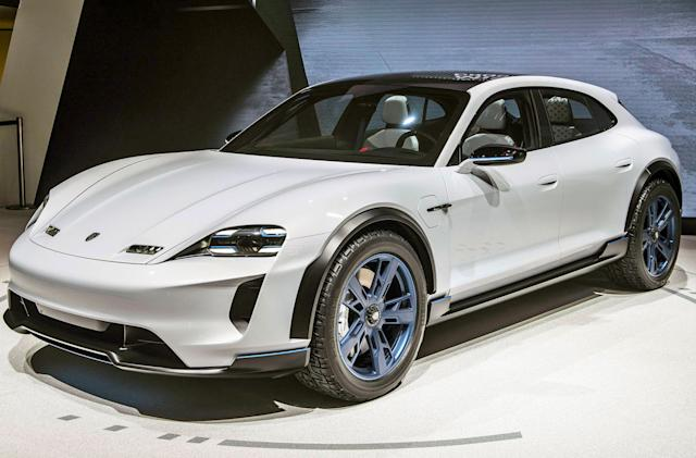 Porsche is building a speedy EV charging network across the US