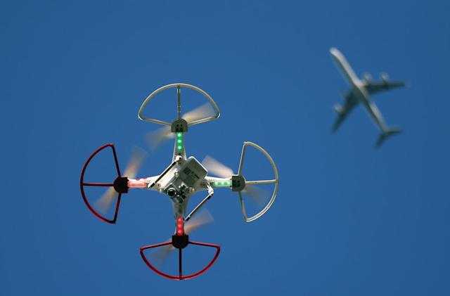 Study finds most drone incidents occur in prohibited airspace