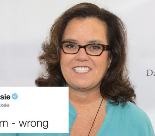 Twitter gave Rosie O'Donnell the worst 'who to follow' recommendation ever