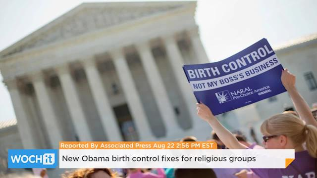 New Obama Birth Control Fixes For Religious Groups