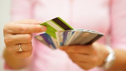 American credit card delinquencies are up