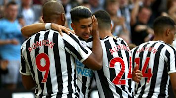 Perez hat-trick all-but seals safety for Newcastle