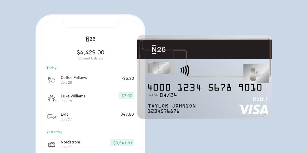 Popular German startup N26 aims to disrupt US banking