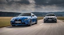 BMW reveals new all-wheel-drive versions of the M3 and M4