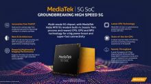 MediaTek Unveils Groundbreaking New 5G SoC for First Wave of 5G Flagship Devices