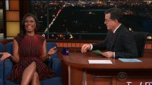 Omarosa gets grilled by Colbert, admits Trump says 'awful and unacceptable' things