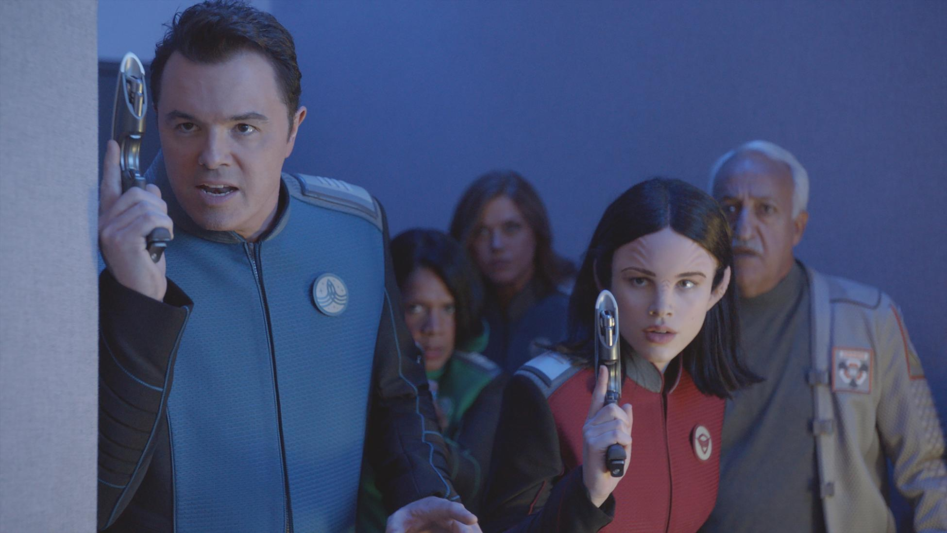 Seth Macfarlane Gives Fans Update On The Orville Season 3 We Re Working On It Very Hard Besides this with you, we are just starting writing our next script, which i feel like we may have started yesterday but then we just ended up watching misery because the episode is three different stephen king stories. yahoo finance