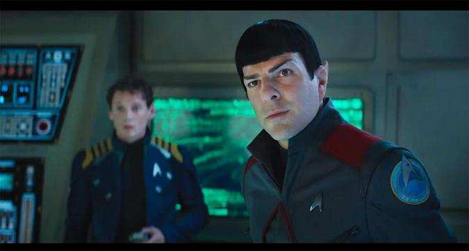 The first 'Star Trek Beyond' trailer makes some noise