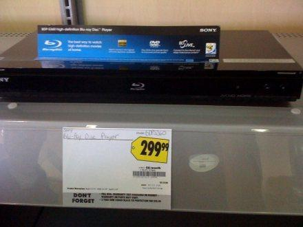 Sony BDP-S360 Blu-ray player casually arrives at Best Buy