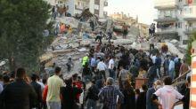 Powerful earthquake rocks Turkish coast and Greek islands
