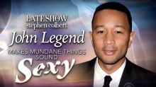 WATCH: John Legend makes mundane things sound sexy – including shopping at Costco